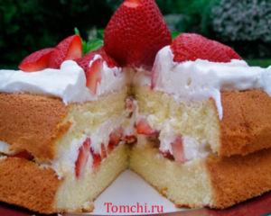 Qulupnoyli Tort.